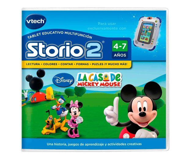 Oferta de Videojuego educativo Mickey Mouse para videoconsola infantil Storio 2, VTECH 1 unidad. por 5€