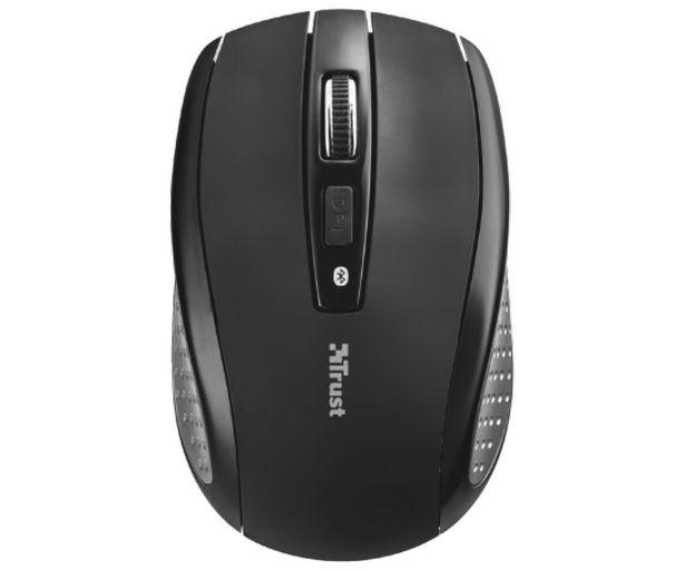 Oferta de Ratón óptico inalámbrico TRUST SIANO, 1600 dpi, conexión Bluetooth. por 19,99€