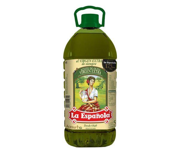 Oferta de Aceite  de oliva Virgen Extra LA ESPAÑOLA garrafa de 5 l. por 12,99€