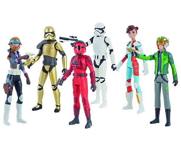 Oferta de Figuras Resistance Star Wars. HASBRO. por 4,99€