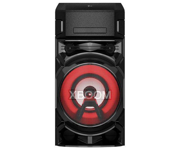 Oferta de Altavoz portátil LG XBOOM ON5 600W, efectos DJ, BLUETOOTH, luces LED, Karaoke. por 239€