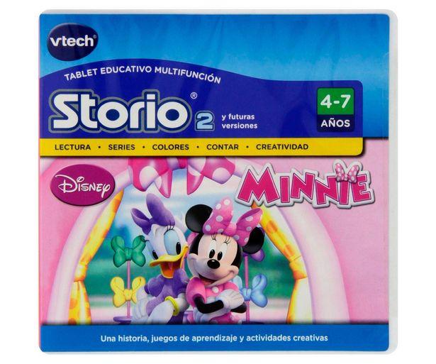 Oferta de Videojuego Minnie para videoconsola infantil Storio 2 VTECH 1 unidad. por 5€