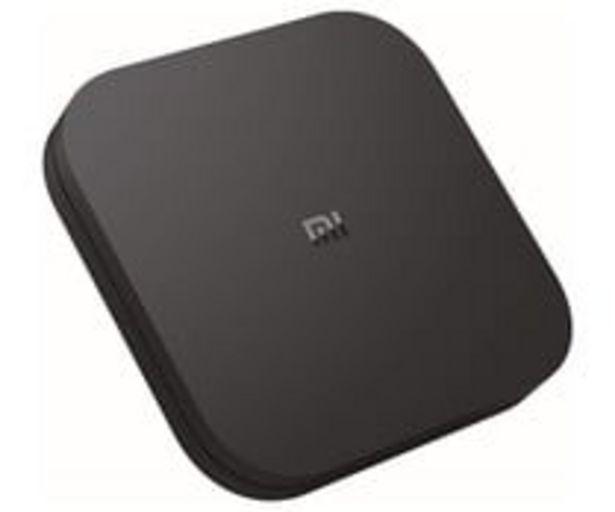Oferta de Receptor navegador smart TV XIAOMI Mi TV Box S, 4K, WiFi, Bluetooth, Quad-Core, 2GB Ram, HDMI, USB. por 58,9€