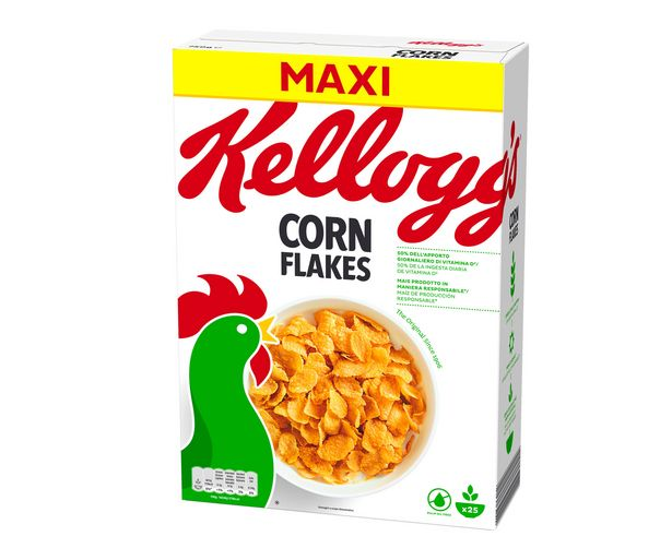Oferta de Cereales copos de maíz natural KELLOGG'S CORN FLAKES 750 g. por 2,99€