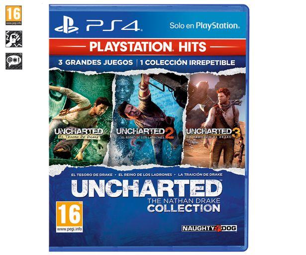 Oferta de Juego Uncharted : The Nathan Drake collection para PS4, género: acción, PEGI 16. por 9,98€