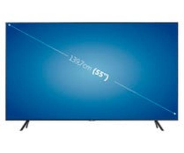 """Oferta de Televisión 139,7cm (55"""") LED SAMSUNG 55TU7105 4K, SMART TV, WIFI, BLUETOOTH, TDT T2, USB reproductor y grabador, 2HDMI, 2000HZ. por 499€"""