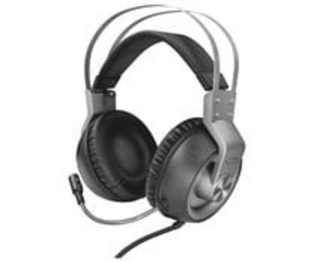 Oferta de Auriculares gaming TRUST GXT 430 Ironn, micrófono, control volumen, conexión jack 3.5 mm, compatible PC / XBOX / PS4 / SWITCH. por 37,9€