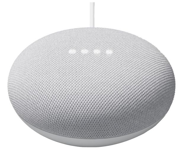 Oferta de Altavoz inteligente GOOGLE Nest Mini Tiza GA00638-ES (2ª generación). control por voz, Wi-Fi 802.11, Bluetooth 5.0, Google Cast. por 59€
