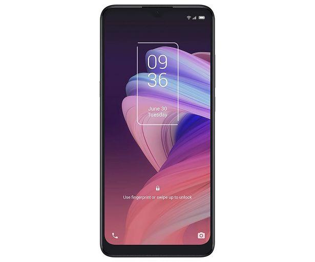 "Oferta de Smartphone 16,56cm (6,52"") TCL 10 SE Icy Silver, Octa-Core, 4GB Ram, 128GB, 48+5+2 Mpx, MicroSD, Dual-Sim, TCL UI (Android 10). por 128€"