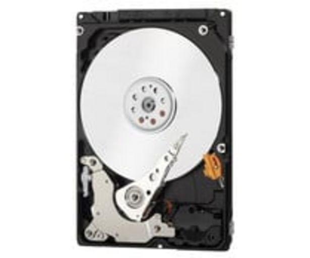 "Oferta de Disco duro interno 1TB WESTERN DIGITAL, tamaño 2.5"", SATA II. por 69,9€"
