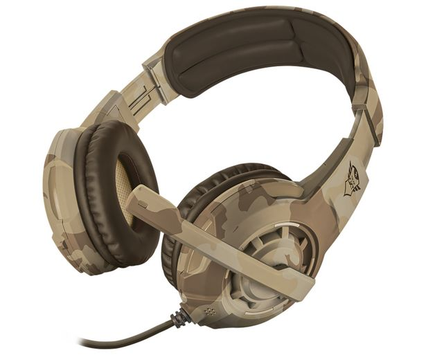 Oferta de Auriculares gaming TRUST GXT 310D Radius, micrófono, control volumen, conexión jack 3.5mm. Compatible PC / XBOX ONE / SWITCH / PS4. por 25,9€