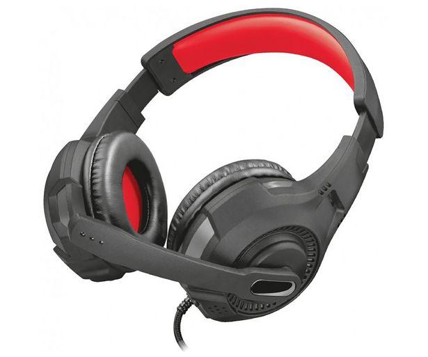 Oferta de Auriculares gaming TRUST GXT 307 Ravu, micrófono, control de volumen, cable 2m. Compatible PC / XBOX ONE / SWITCH / PS4. por 16,8€