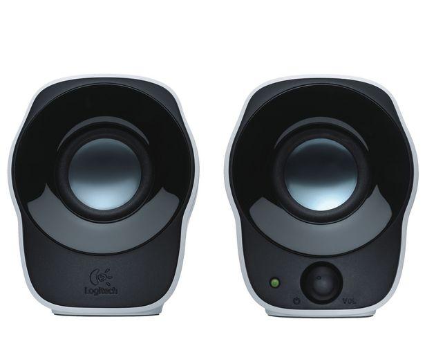 Oferta de Altavoces 2.0 LOGITECH Z-120, 1,2W, control volumen, conexión Usb, por 14€