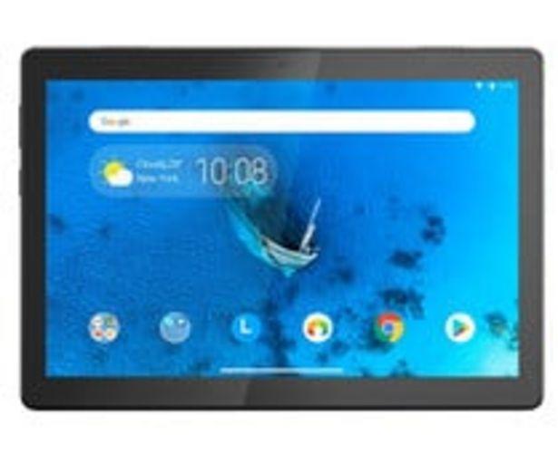"Oferta de Tablet de 25,65 cm (10,1"") LENOVO Tab E10 TB-X505F, Quad Core, 2GB Ram, 32GB, microSD, cámara frontal y trasera, Android 8.1. por 138€"