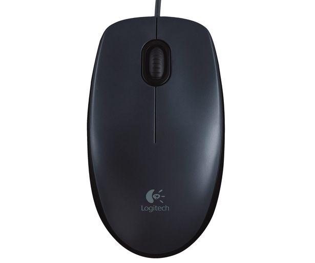 Oferta de Ratón óptico con cable LOGITECH M90, 3 botones, conexión Usb. por 6,99€