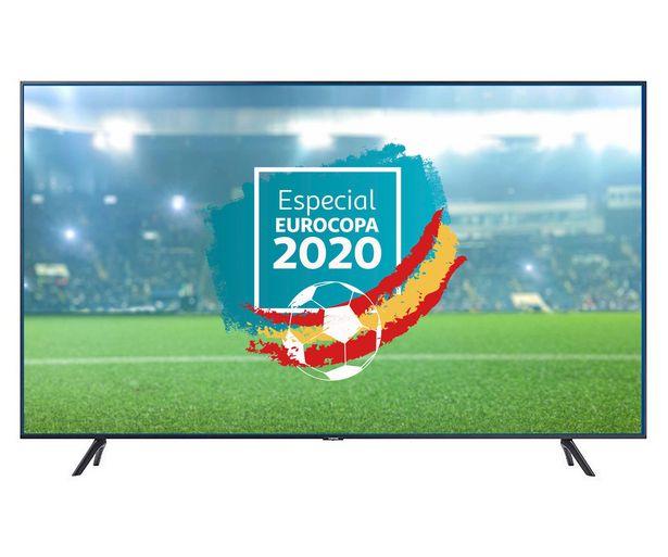 """Oferta de Televisión 139,7cm (55"""") LED SAMSUNG 55TU7105 4K, SMART TV, WIFI, BLUETOOTH, TDT T2, USB reproductor y grabador, 2HDMI, 2000HZ. por 479€"""