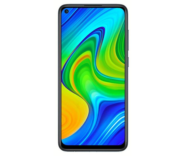 """Oferta de Smartphone 16,58cm (6,53"""") XIAOMI Redmi Note 9 negro, Octa-Core, 4GB Ram, 128GB, microSD, 48+8+2+2 Mpx, Dual-Sim, MIUI 11 (Android 10) por 169€"""