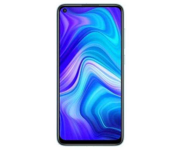 """Oferta de Smartphone 16,58cm (6,53"""") XIAOMI Redmi Note 9 blanco polar, Octa-Core, 4GB Ram, 128GB, microSD, 48+8+2+2 Mpx, Dual-Sim, MIUI 11 (Android 10) por 169€"""
