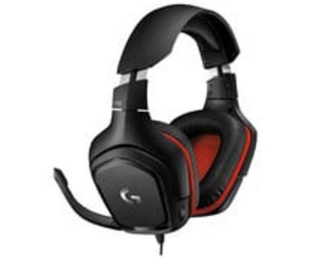 Oferta de Auriculares gaming LOGITECH G332, con micrófono, conexión 3,5mm y Usb. compatible PC / Switch / PlayStation 4 / Xbox One. por 44,8€
