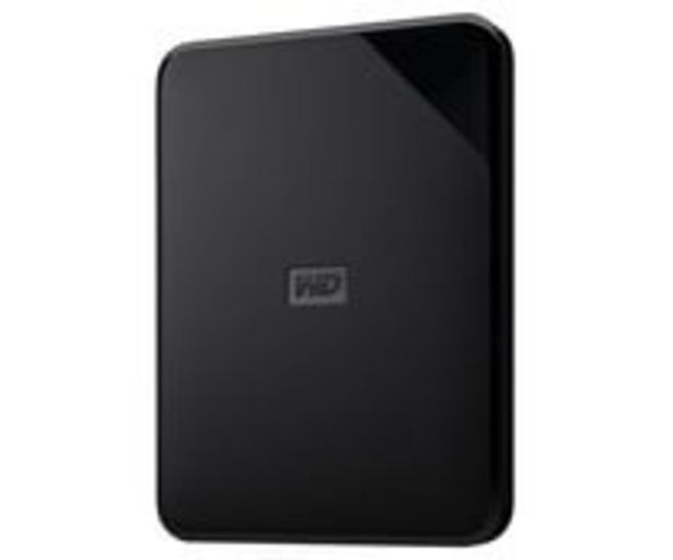 Oferta de Disco duro externo 1TB WD elements se, tamaño 2,5, conexión USB 3.0. por 57,9€
