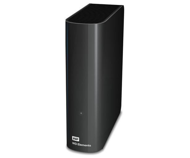 """Oferta de Disco duro externo 4TB WD Elements, tamaño 3,5"""", Usb 3.0, compatible con Windows y Mac. por 109,8€"""