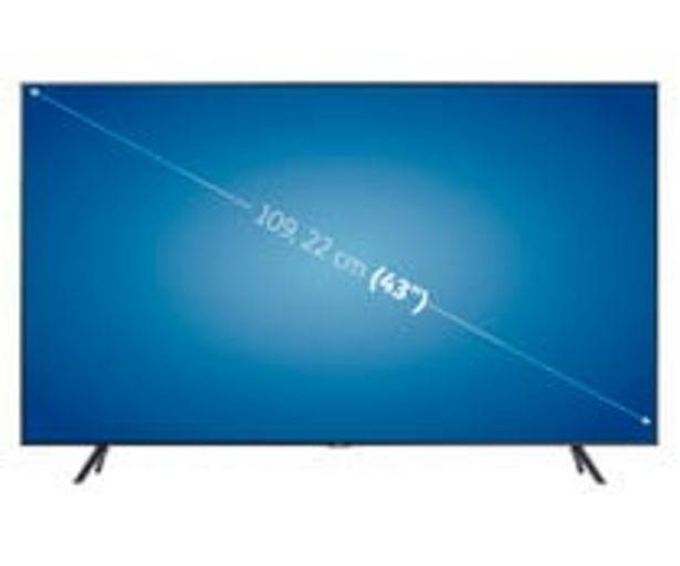 """Oferta de Televisión 109,22 cm (43"""") LED SAMSUNG 43TU7105 4K, SMART TV, WIFI, BLUETOOTH, TDT T2, USB reproductor y grabador, 2HDMI, 2000HZ. por 359€"""