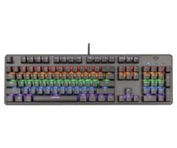 Oferta de Teclado gaming mecánico TRUST GXT 865 Asta, iluminado, conexión Usb. por 59,9€