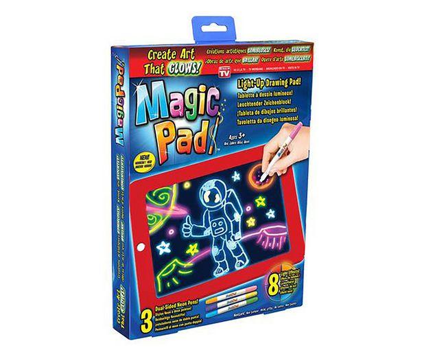 Oferta de Magic tablet con rotuladores de neón para dibujar y crear, BEST OF TV. por 19,99€