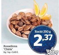 Oferta de Chirlas por 9,49€