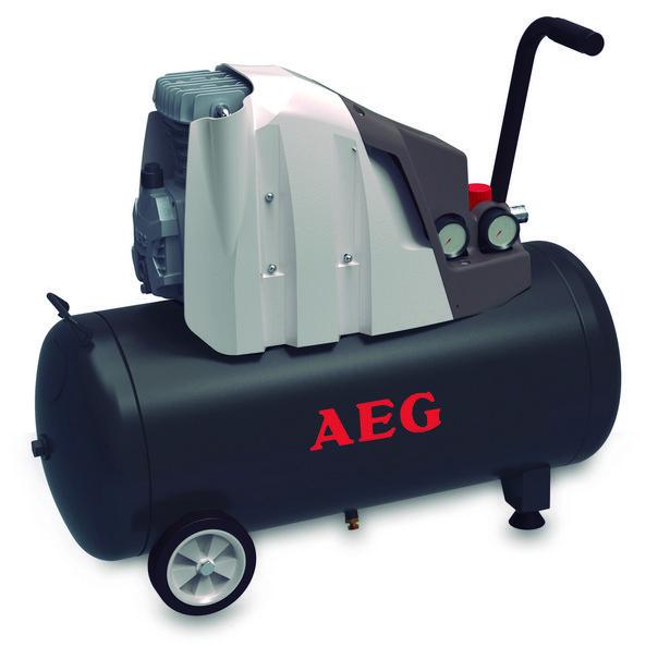 Oferta de COMPRESOR 50 L 2HP AEG por 119€
