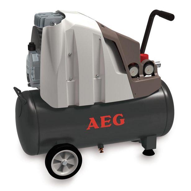 Oferta de COMPRESOR 25 L 2HP AEG por 89€