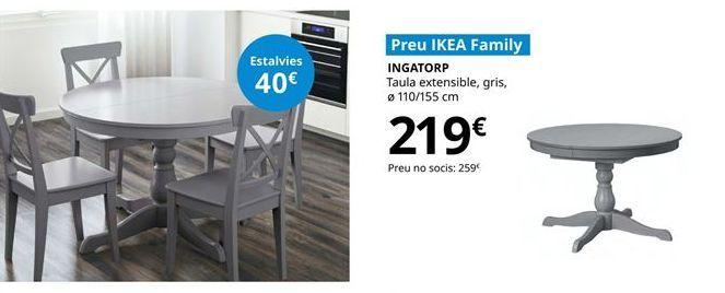 Oferta de Mesa extensible por 219€