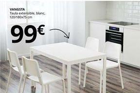 Oferta de Mesa extensible por 99€