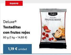 Oferta de Tostadas Deluxe por 1,19€