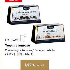 Oferta de Yogur Deluxe por 1,99€