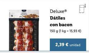 Oferta de Dátiles Deluxe por 2,39€