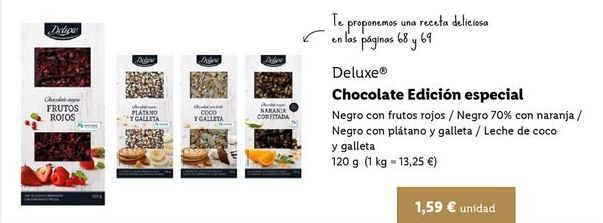 Oferta de Chocolate Deluxe por 1,59€