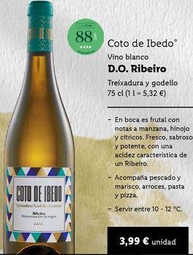 Oferta de Vino blanco por 3,99€