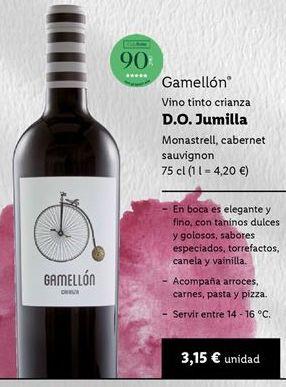 Oferta de Vino tinto por 3,15€