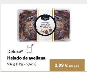 Oferta de Helados Deluxe por 2,99€