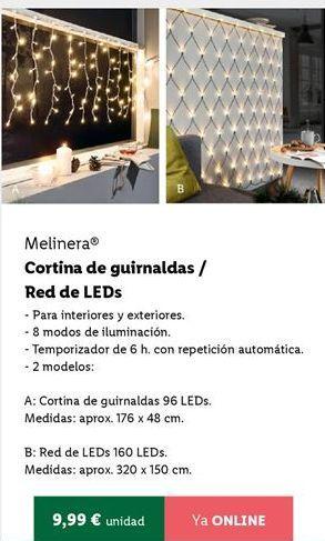 Oferta de Guirnaldas melinera por 9,99€