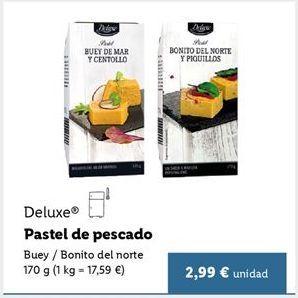 Oferta de Pasteles Deluxe por 2,99€