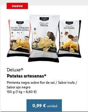 Oferta de Patatas fritas Deluxe por 0,99€