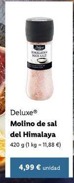 Oferta de Sal Deluxe por 4,99€