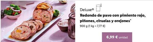 Oferta de Redondo de pavo Deluxe por 6,99€