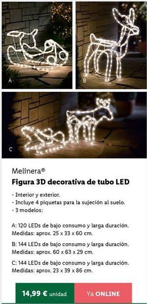 Oferta de Decoración de Navidad melinera por 14,99€