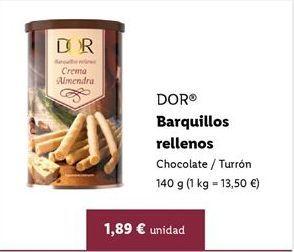Oferta de Barquillos por 1,89€