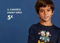 Oferta de Camiseta niño por 5€