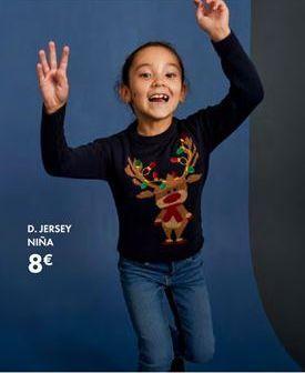 Oferta de Jersey niña por 8€