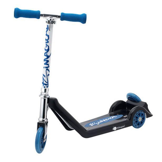 Oferta de Patinete de tres ruedas azul por 49,95€